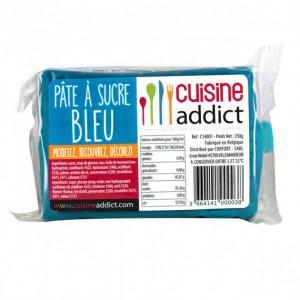 Pâte à Sucre Bleu 250g Cuisineaddict