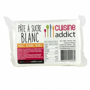 Pâte à Sucre Blanc 250g Cuisineaddict