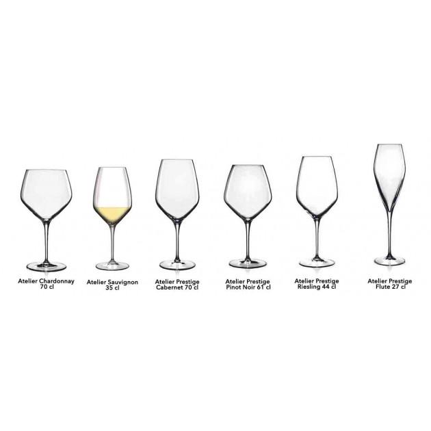 Collection verres a vin Luigi Bormioli ATELIER