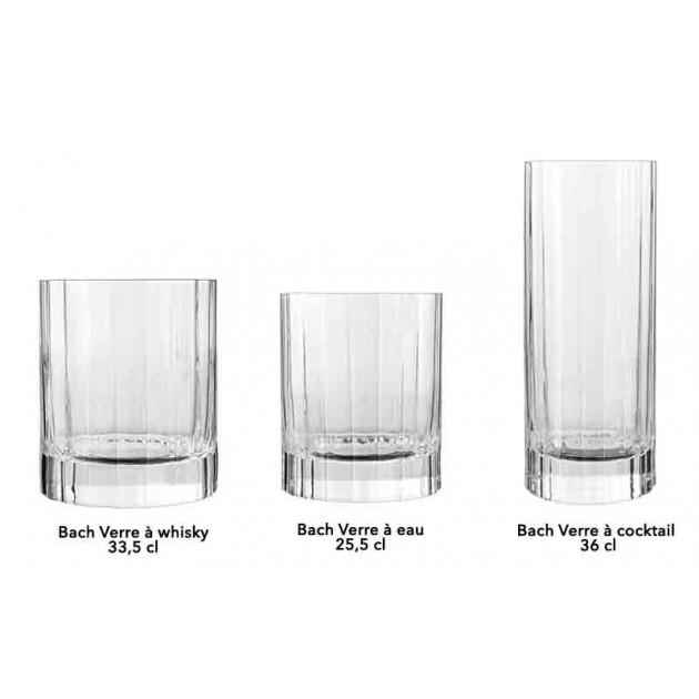 Verre a fond epais pour whisky Luigi Bormioli BACH