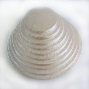 Support Gâteau Rond Ø 17,5 cm Argenté