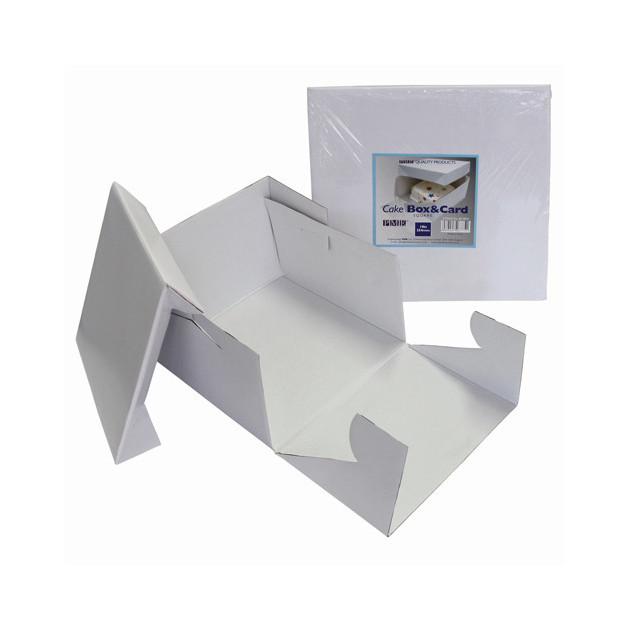 Boîte a Gateau Blanche 25x25x15 cm