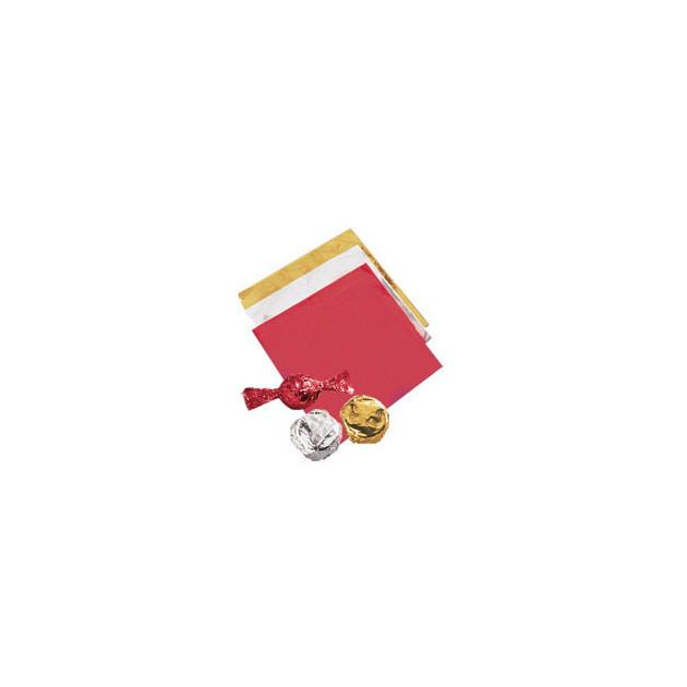 Emballage Bonbon Argente x50 Wilton