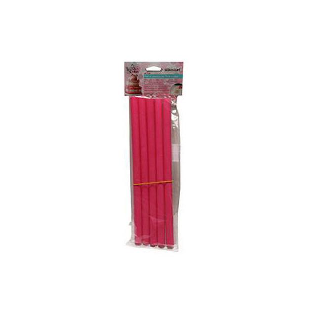 Batons en Plastique pour Piece Montee 30 cm (x5)