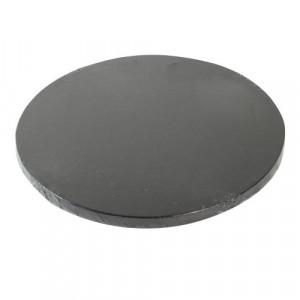 Support Gâteau Rond Ø25 cm Noir