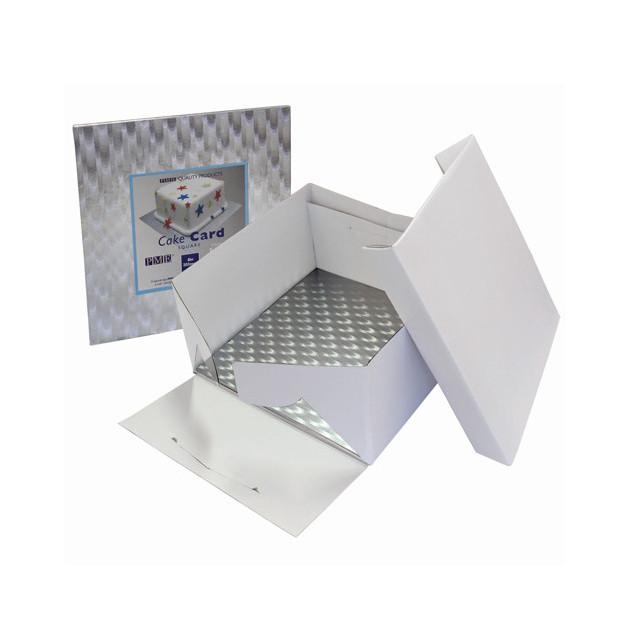 Boîte a Gateau Carre avec Support 25x25x15 cm PME