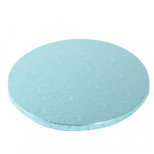 Support Gâteau Rond Ø25 cm Bleu Clair