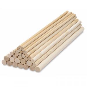 Tiges en Bois pour Pièce Montée 30 cm (x12) PME