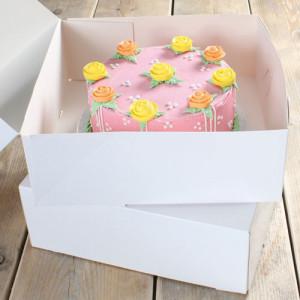 Boîte à Gâteau 32x32x11.5 cm (x2)