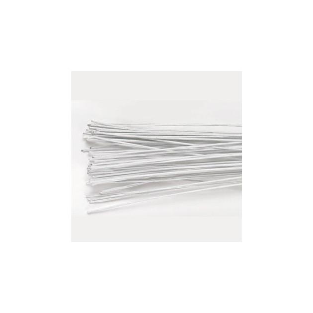 Fil Floral Blanc 28 gauges (x50) Culpitt