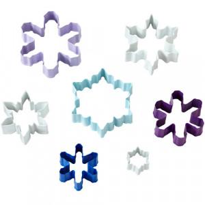 Emporte-pièces Flocons de Neige (x7) Wilton