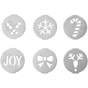 Pochoirs à Biscuits Noël (x6) Wilton