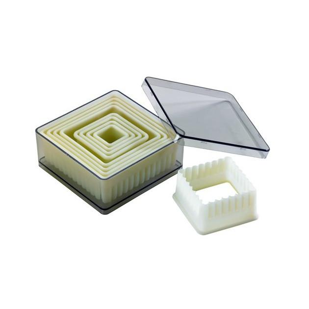 Emporte Piece Carre cannele Polyglass (x9)