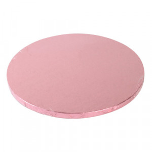 Support Gâteau Rond Ø25 cm Rose