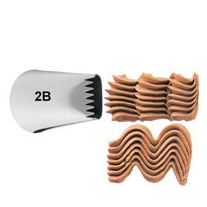 Douille Pâtisserie effet Dentelé (n°2B) Wilton