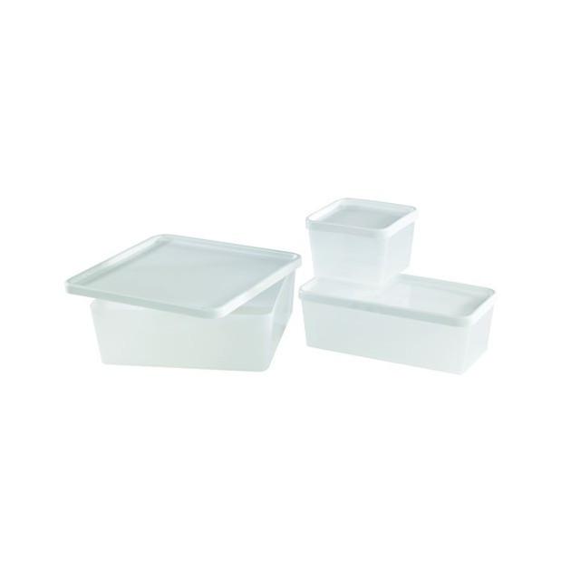 Boîte Plastique Alimentaire 0.6L Mallard Ferriere (vendu a l'unite)