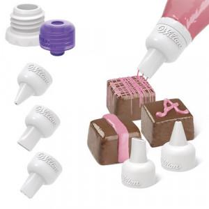 Douilles pour Candy Melt (x3) Wilton