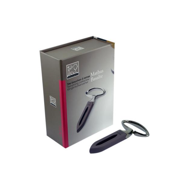 Packaging du Tire-Bouchon a Lames Mathus Basalte Peugeot