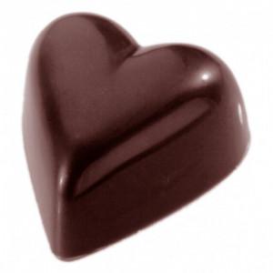 Moule Chocolat Coeur 3.3 cm (x24) Chocolate World