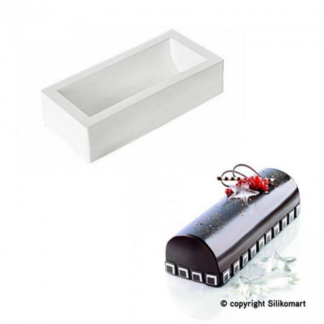 Moule a bûche silicone 25 cm SilikoMart Professional