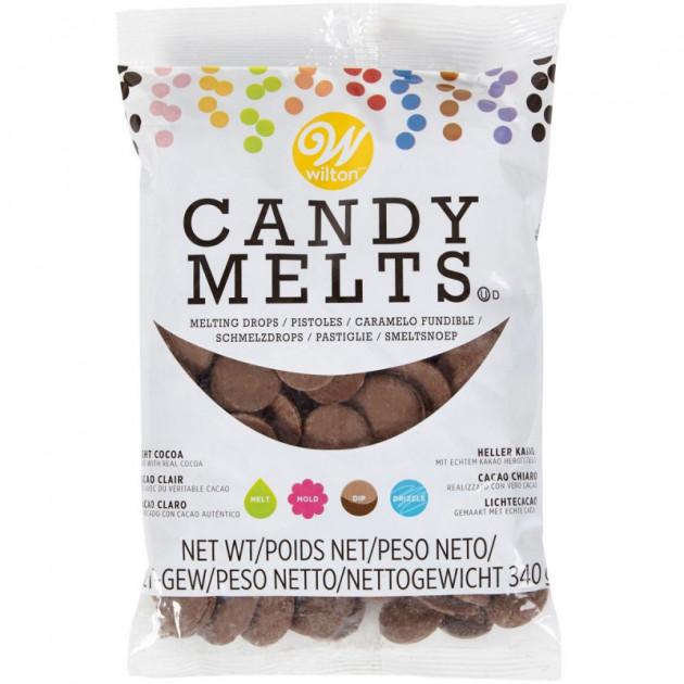 Candy Melts Chocolat au lait 340 g Wilton
