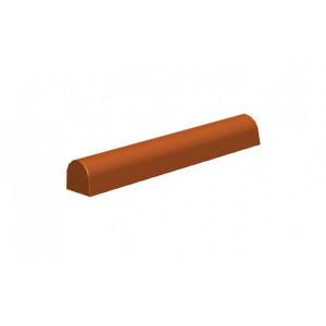 Moule à Bûche Ronde Plastique 25x4x H4 cm (x6)