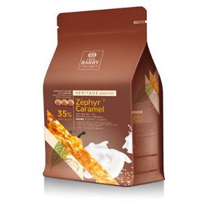 Chocolat Blanc Zéphyr™ Caramel 35% 2,5 kg Barry