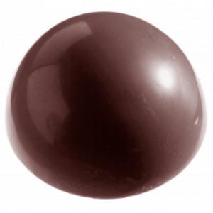 Moule à chocolat Demi-Sphère Ø8 cm (x6) Chocolate World