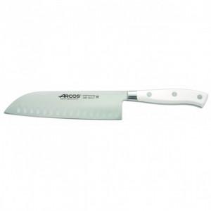 Couteau Santoku Acier Inoxydable 18 cm Arcos RIVIERA blanc