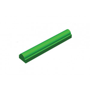 Moule à bûche Plastique Ronde Base Rectangle 50,5 cm (x12)