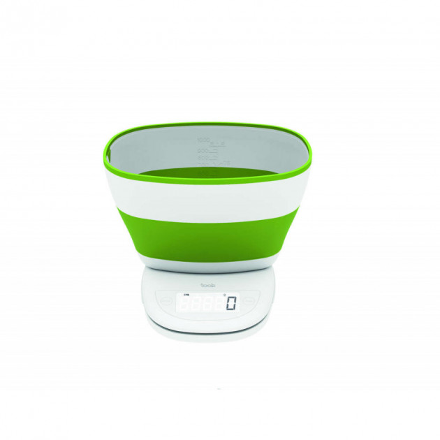 Balance de cuisine avec bol Verte Aubecq