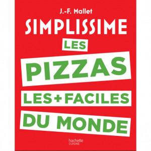 Livre de Recettes Les Pizzas Les + faciles du Monde, chez Hachette