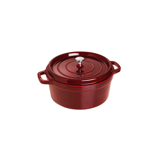 STAUB Cocotte Fonte Ronde 28 cm Grenadine Majolique 6.7 L