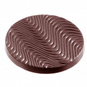 Moule Chocolat Disque Ondulé (x11) Chocolate World