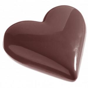 Moule Chocolat Coeur 6.5 cm (x8) Chocolate World