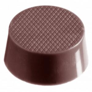 Moule Chocolat Ovale Résille (x24) Chocolate World