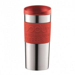 Travel Mug Inox Rouge 35cl Bodum