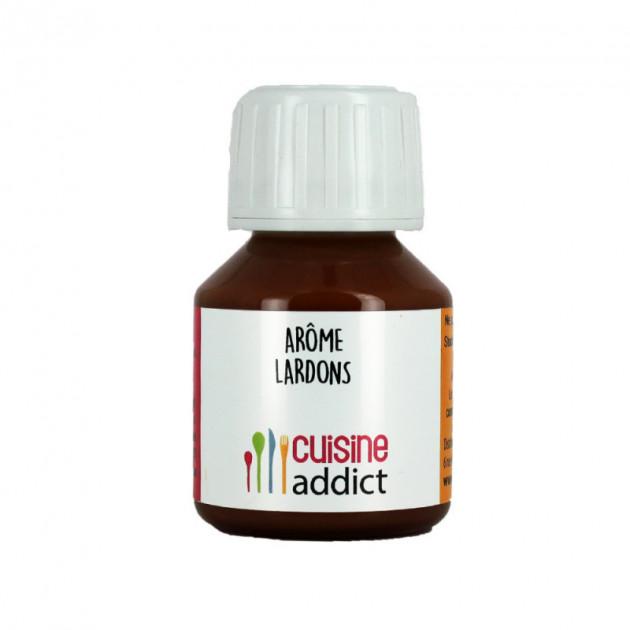 Arome alimentaire Lardons 58 ml Cuisineaddict