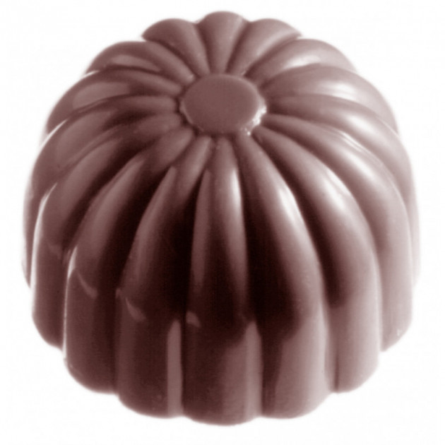 Moule Chocolat Dome Strie (x24) Chocolate World