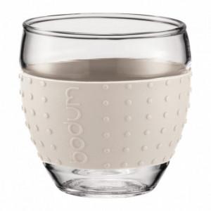 Tasse à Café 10cl Crème PAVINA Bodum (x2)