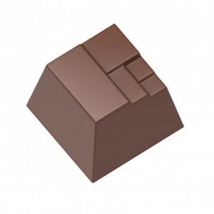 Moule Chocolat Carrés Superposés (x18) Chocolate World