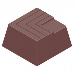 Moule Chocolat Carré Strié (x21) Chocolate World