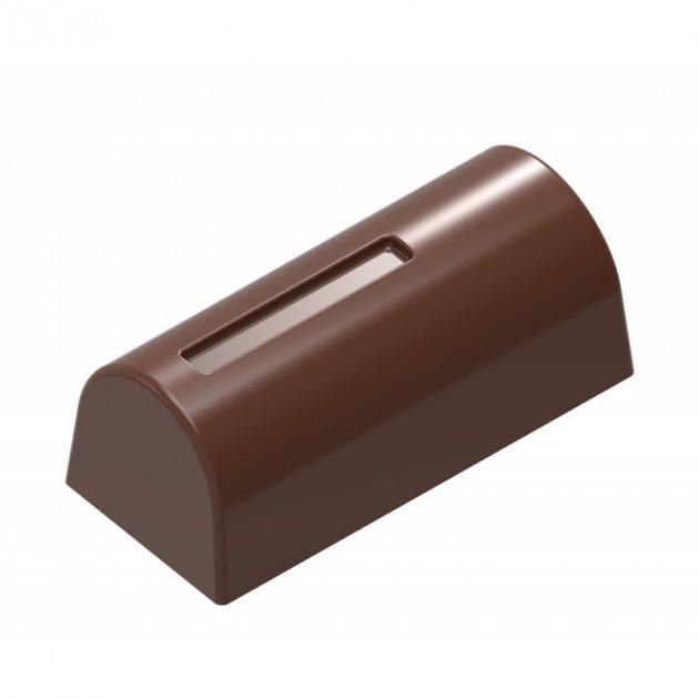 Moule Chocolat Bûche (x25) Chocolate World