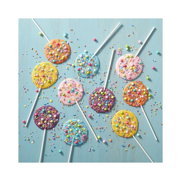 Sucettes Candy Melts anniversaire