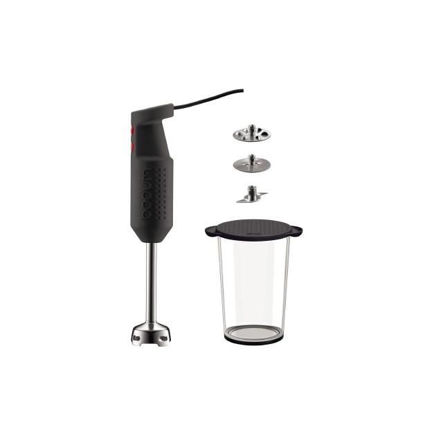 Mixeur Plongeant Noir BISTRO Bodum