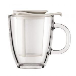 Tasse à Thé avec Infuseur Crème YO-YO SET Bodum