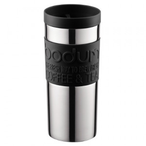 Travel Mug Inox Noir 35cl Bodum