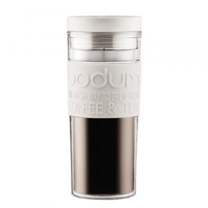 Travel Mug Plastique Crème 45cl BODUM