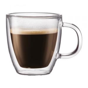 Tasse à Café Double Paroi 15cl BISTRO Bodum (x2)