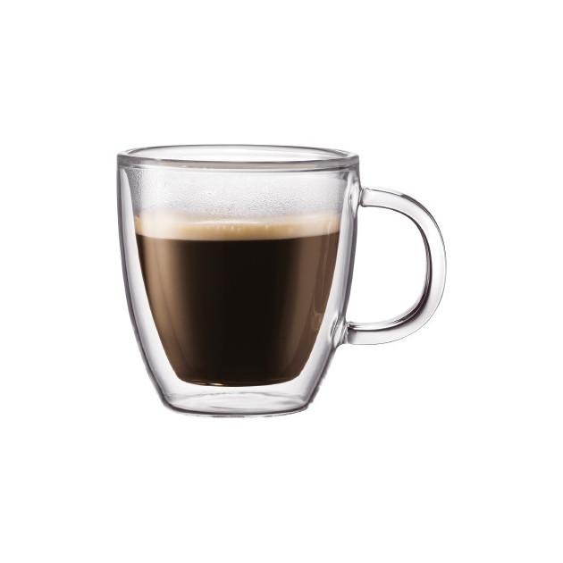 Tasse a Cafe Double Paroi 15cl BISTRO Bodum (x2)